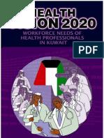 Health Vision 2020 Kuwait