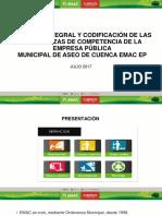 CODIFICACION ORDENANZAS EMAC EP