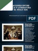 RELACIONES ENTRE MÚSICA Y LITERATURA n