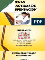BUENAS PRACTICAS DE DISPENSACION