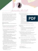 teaching resume  4