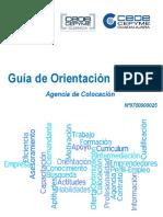 GUIA ORIENTACION LABORAL AGENCIA 0700000025