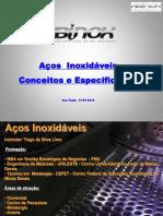 Apresentação Conceitos e Especificacão de Aços Inoxidaveis 2015 - Abinox.pdf