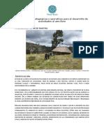 Herramientas Pedagógicas y Operativas para el desarrollo de actividades al aire libre