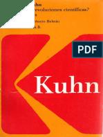 Kuhn, Thomas - Qué son las revoluciones científicas