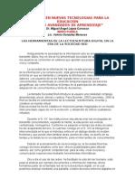 Las Herramientas de La Lectoescritura Digital en La Era de La Sociedad Redc[1]