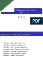 SEEM2440 Engineering Economics