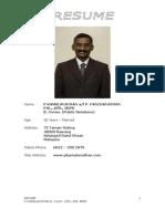 4927152 RESUME P Kamalanathan