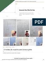 9 moldes de roupinha para boneca grátis - Feltro e moldes para artesanato.pdf