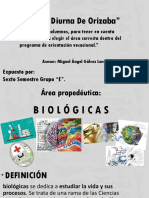 BIOLOGICAS EXPOSICION