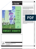 Sweat Equity - using sweat equity to build the community garden and save your community