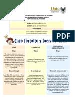 CASO FORTUITO Y FUERZA MAYOR EN DERECHO CIVIL