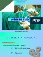 DIERESIS Y SINTESIS