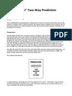 Mark Elsdon - The No-Way Two-Way Prediction.pdf