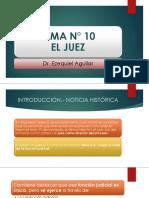 TEMA N° 10 EL JUEZ