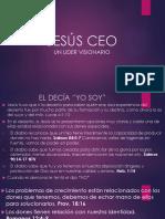 JESÚS CEO Lider Visionario