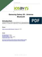 Samsung Galaxy S5 Bluetooth Antenna Repair