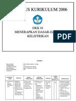 SILABUS DKK 01 KTSP
