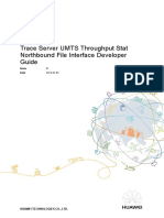 U2000 Trace Server UMTS Throughput Stat Northbound File Interface Developer Guide(OFFE00046978_PMD8906ZH A)