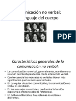 4.4 Comunicacion No Verbal- El Lenguaje Del Cuerpo