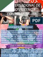DÍA INTERNACIONAL DE LA NO VIOLENCIA CONTRA LA 2