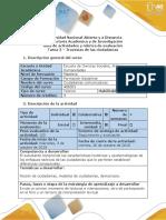 Guía de Actividades y Rúbrica de Evaluación - Tarea 3 - Travesías de Las Ciudadanías