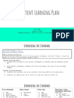 itl 608  content learning plan
