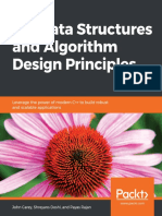 C++ Data Structures and Algorithm Design Principles - John Carey, Shreyans Doshi and Payas Rajan