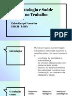 SAUDE MENTAL - TRABALHO