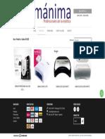 Comprar Cabinas UV_LED en Manima Distribuciones _ Filtrado por Productos Destacados
