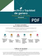 Proyecto Perspectiva y Equidad de Genero