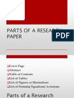 RESERCH280-Lesson-5-Parts-of-a-Research-Paper