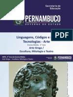 Arte Grega  Escultura, Mitologia e Teatro