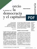 El Divorcio entre la Democracia y el Capitalismo