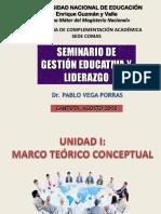 PPT SEMINARIO DE GESTIÓN EDUCATIVA Y LIDERAZGO - AGOSTO 2018