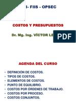 1 UNI CC1 CONCEPTO DE COSTOS TEORIA