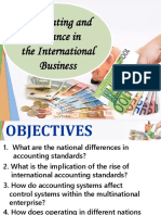 accounting and finance in the IB