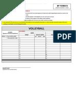 BP2019 - INDOOR VOLLEYBALL