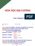 Mot So Bai Tap Hoa Dai Cuong