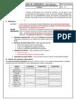 Elaboration d'un Avant Projet de Fabrication (APEF)-Méthode Analytique