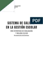 FLACSI, 2014, Sistema Evaluación FLACSI