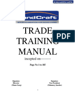Microsoft Word - Trade training manual Revise date- 09-05-2015