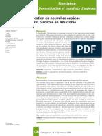 Domesticación de peces en Amazonia