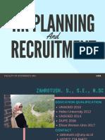 5-HR Planning and Recruitmen
