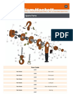 Chain pulley spare_parts_manual_hoisting_spar