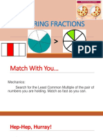 COMPARING FRACTIONS(demo)