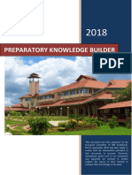IIMK Preparatory Knowledge Builder