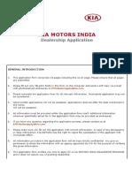 KIA_India_Dealer_Application_Form