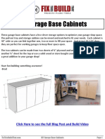 Garage Base Cabinets
