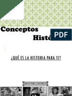Conceptos historicos